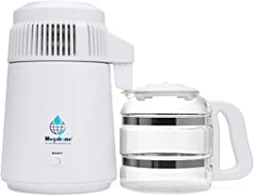 Megahome Countertop Water Distiller, White, Glass Collection