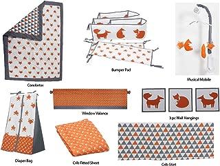 Best orange crib set Reviews