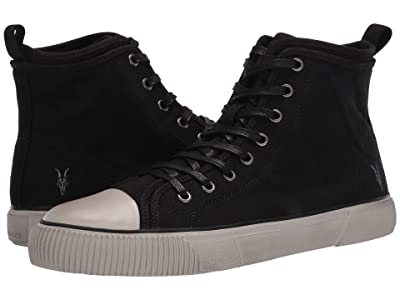 AllSaints Rigg Two High Top (Black) Men