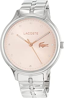 Lacoste Women's Gold Dial Stainless Steel Band Watch - 2001031