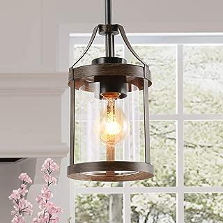 Best wood pendant lights for kitchen Reviews
