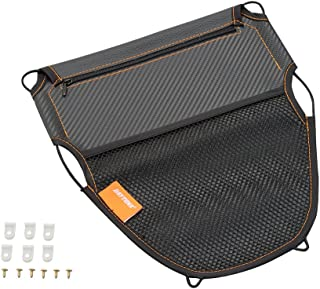 デイトナ バイク用 メットインポケット カーボン調 Mサイズ シート裏デッドスペース有効活用 カーボン 93001