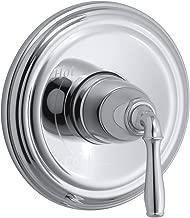 KOHLER K-TS397-4-CP Devonshire(R) Rite-Temp(R) valve trim with lever handle, 10.25 x 7.25 x 7.25, Polished Chrome