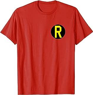 Batman Robin Left Chest Logo T Shirt T-Shirt