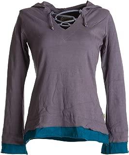 khujo Damen Top AYRA in altrosa weites ärmelloses Shirt SALE 60/%