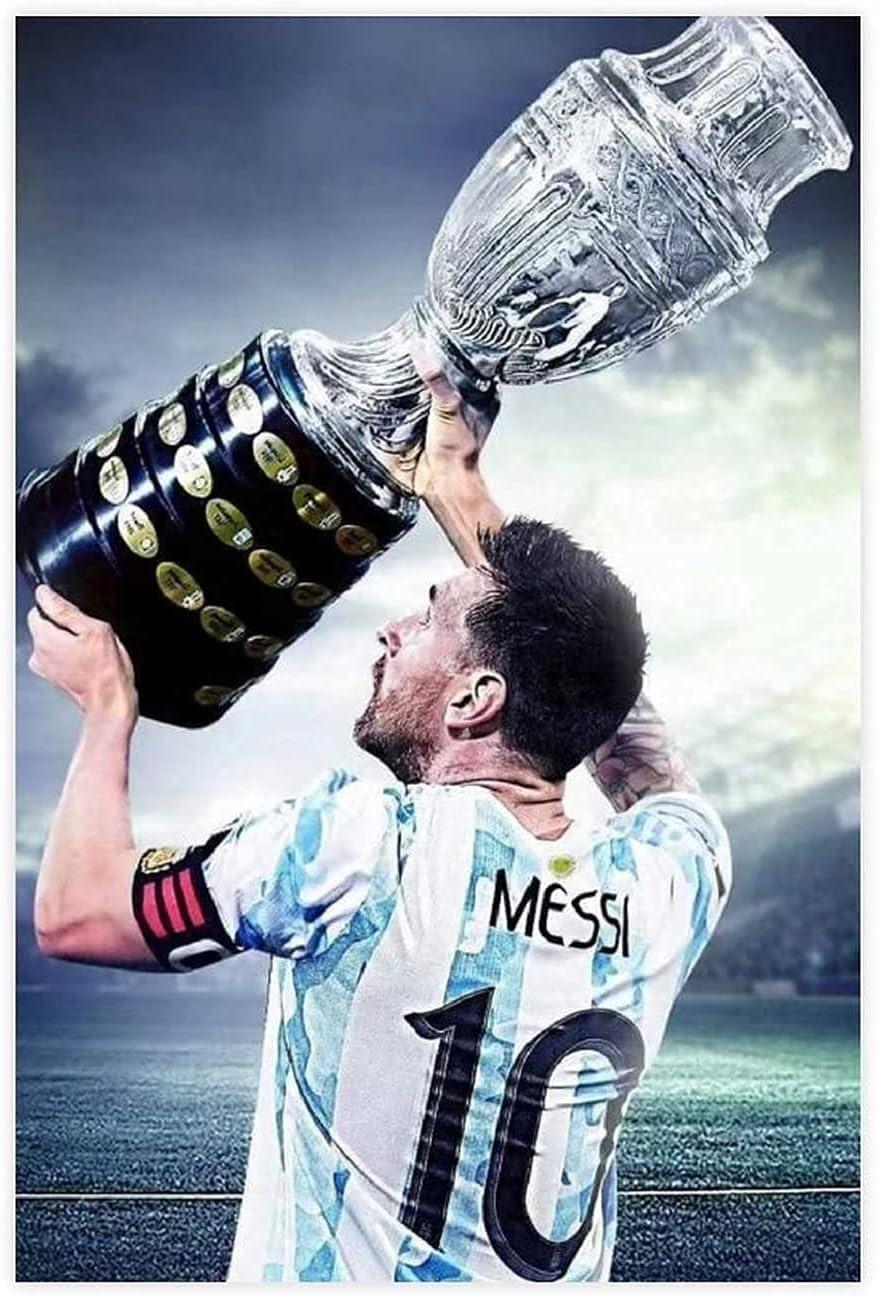 Lionel Messi Poster Bargain Copa Champion 2021 Arge America Long Beach Mall