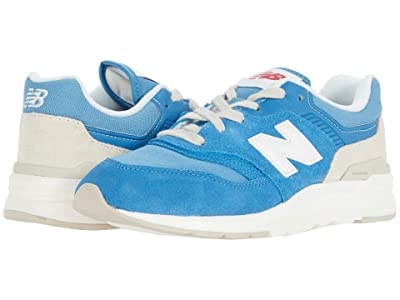 New Balance Kids 997H (Big Kid) (Mako Blue/Sea Salt) Boys Shoes