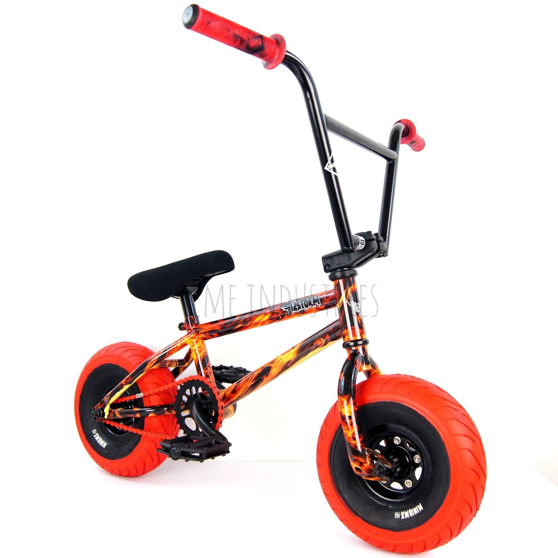 Wildcat Original Mini BMX bicicleta fuego Wrap nueva edición ...