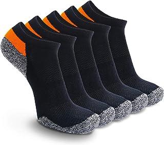 Weekend Peninsula, 5 Pares Calcetines Running Deportivos Hombres Mujer, Calcetines Cortos Tobilleros Hombre Mujer Invisibles Bajos Antiampollas