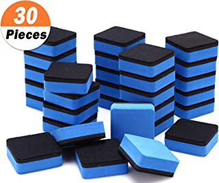 30 Pack Magnetic Whiteboard Eraser for School Classroom, Office, Home - Buytra Dry Erase Erasers Cleaner for Dry-erase White Board, 1.97 x 1.97
