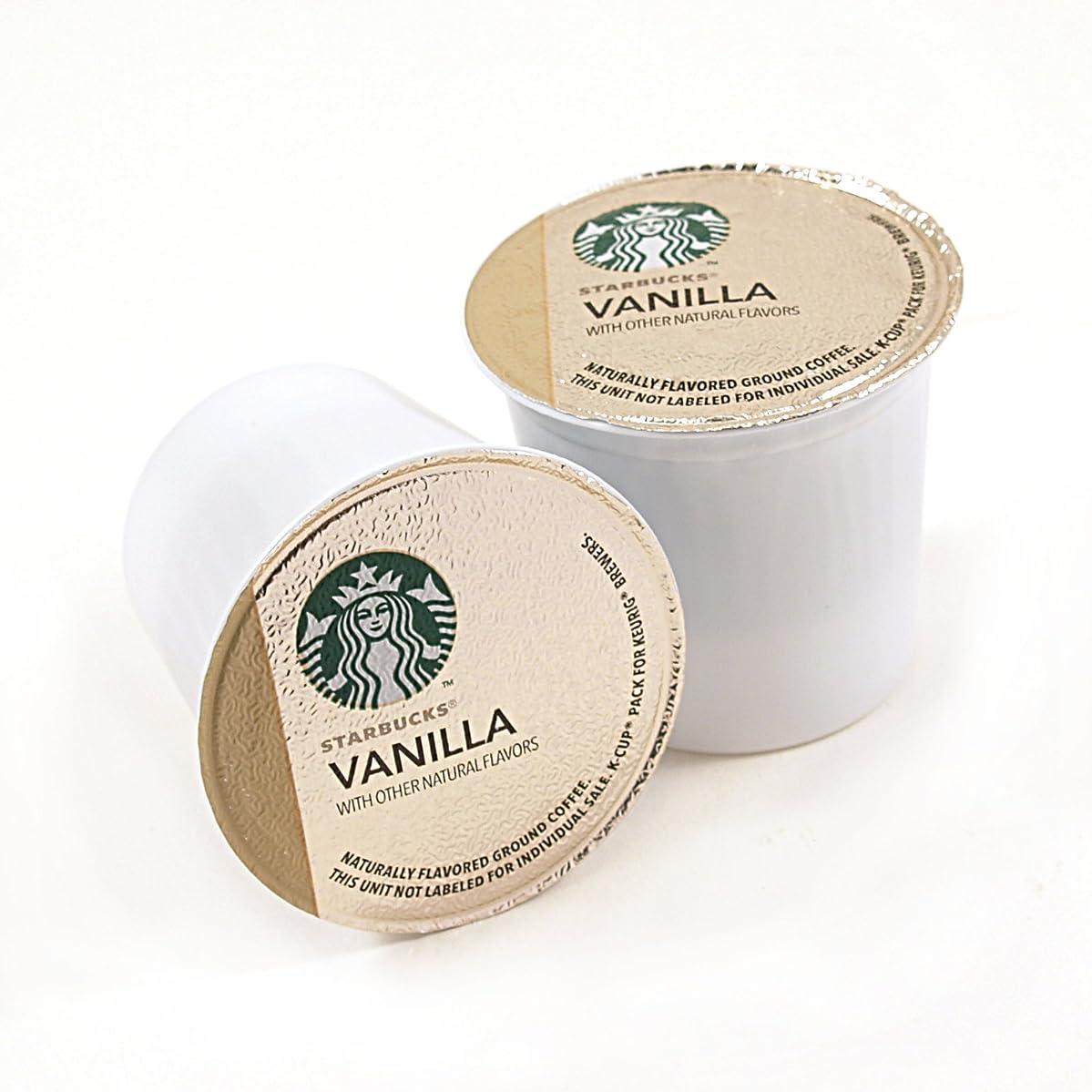 Starbucks Vanilla Coffee Keurig K-Cups, 128 Count vgywpmhqbzt0