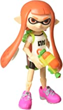 World of Nintendo Inkling Girl with Blaster Action Figure, 4