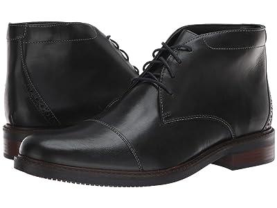 Bostonian Maxton Mid (Black Leather) Men