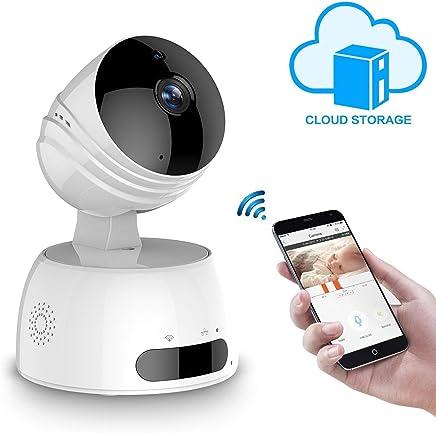 LESHP Telecamera di Sorveglianza 720P Wireless IP camera,Obiettivi Ruotabile, Audio Bidirezionale,Visore notturno,Sicurezza Domestica,Baby Monitor Compatibile con iOS e Android e PC,Compatibile Alexa - Trova i prezzi più bassi