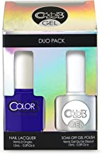 Color Club Gel Duo Pack Gel + Nail Lacquer FULL COLLECTION (pick your color) (Bright Night #GEL993)