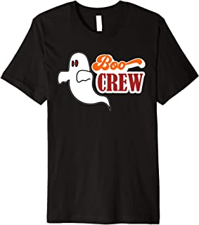 Boo Crew Ghost Halloween Shirt & Hoodie Premium T-Shirt