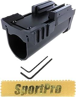Army Force製 024A 40mmカートリッジ用 M203タイプ 40mm グレネードランチャー ショート メタル製 - ブラック
