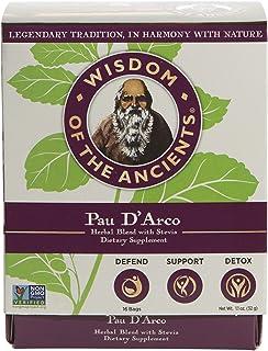 Wisdom of the Ancients Pau D' Arco Tea Bags, 1.1 oz