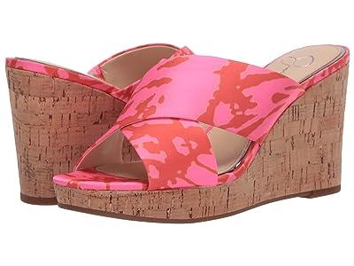 Jessica Simpson Seena (Neon Pink Combo) Women