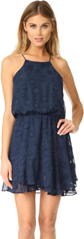 Cooper & Ella Womens Carla Ruffled Blouson Party Dress