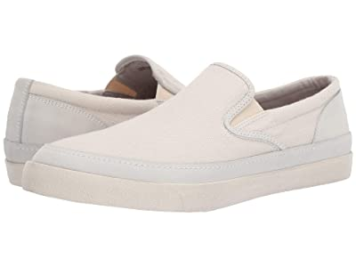 John Varvatos Jet Slip-On (Bone White) Men