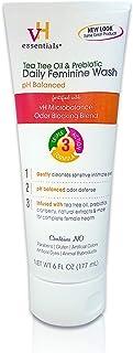 Vh Essentials Tea Tree Oil & Prebiotic, Ph Balanced Daily Feminine Wash, 6 Oz