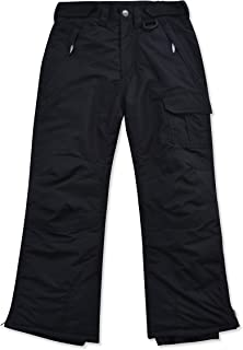 Childrens Water Resistant Insulated Ski Snow Pants