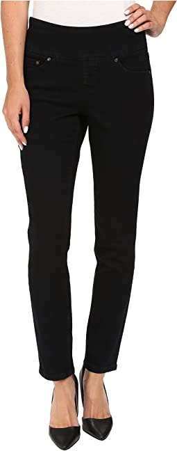 Amelia Slim Ankle Comfort Denim in Black Void