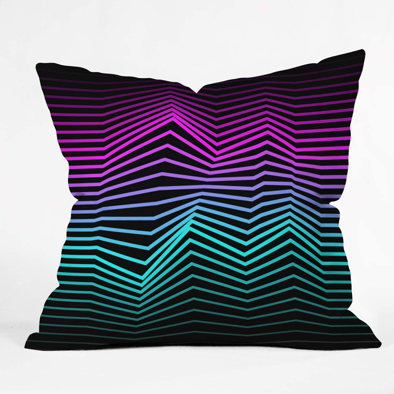 Deny Designs Three of the Possessed 大特価!! Miami Pi Nights Indoor Throw 最新号掲載アイテム