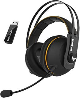 TUF Gaming H7 Wireless gaming headset for PC, Mac and PlayStation® 4 with 2.4GHz wireless connection