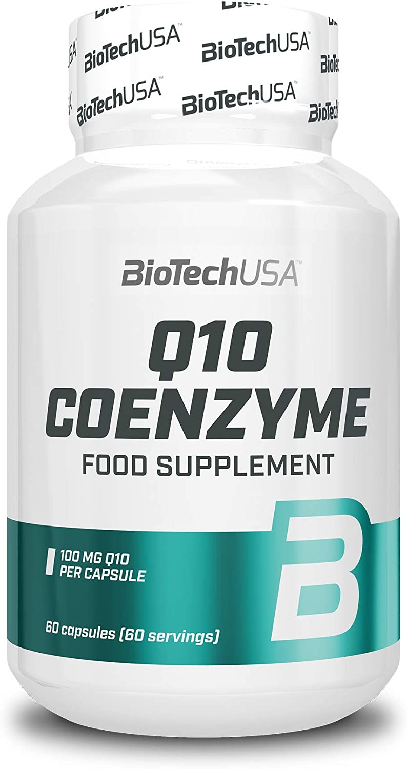BiotechUSA Q10 Coenzyme Capsules Max 50% OFF and Minera New color Vitamins 60