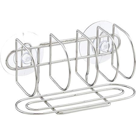 パール金属 アルファージュ ステンレス製 スポンジ・タワシ ラック H-9528