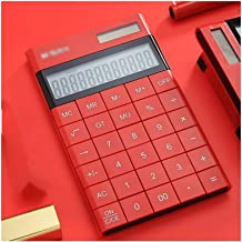 $46 » Samanthaa Office Supplies Calculator Calculator Portable 12 Digit Large LCD Display and Large Standard Function Desktop Ha...
