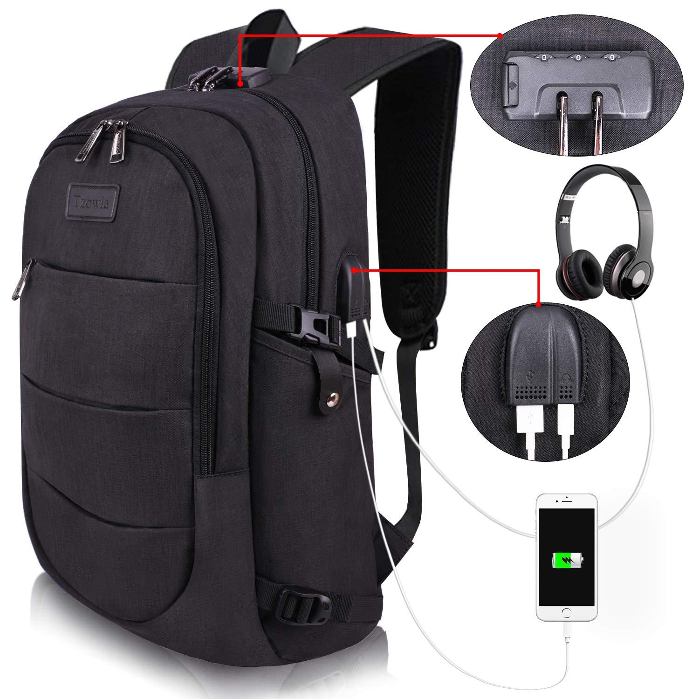 Tzowla Business Resistant Anti Theft Backpacks