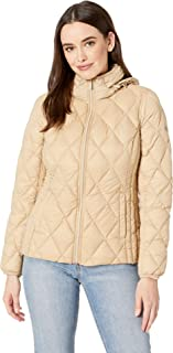 Michael Michael Kors Women's Quilted Nylon Packable Down Jacket M823965M