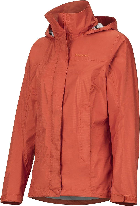 Marmot Damen Precip Eco Jacket Hardshell Regenjacke winddicht wasserdicht atmungsaktiv