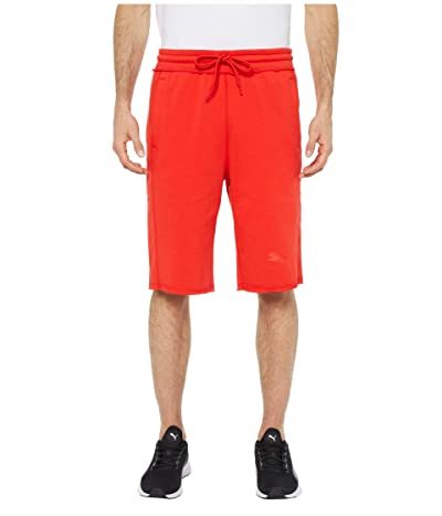 PUMA 12 Sweat Bermuda (Flame Scarlet) Men
