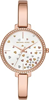 Michael Kors Women's MK3978 Analog Quartz Rose Gold Watch