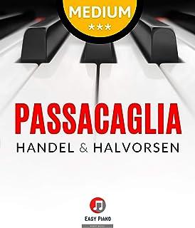 Passacaglia – Handel & Halvorsen - for Piano Solo