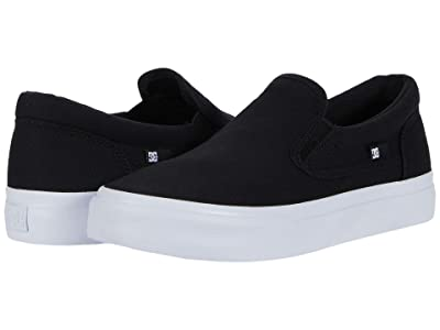 DC Trase Slip-On (Black/White) Women