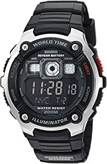 Casio Men's AE2000W Sport Watch & Cooling Towel Bundle