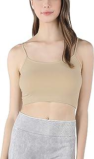 Nikibiki Women's Seamless Sports Bralette Top, One Size