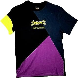 Le TIGRE Collection Mens Signature Two Tone Graphic Logo T-Shirt