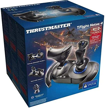 Joystick Thrustmaster T-Flight Hotas 4 War Thunder Starter Pack - PS4 /PC / PS3