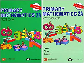 Primary Mathematics 2A SET--Textbook and Workbook