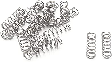 Stainless Steel Compression Springs 20 pcs (0.5 x 4 x 15mm)