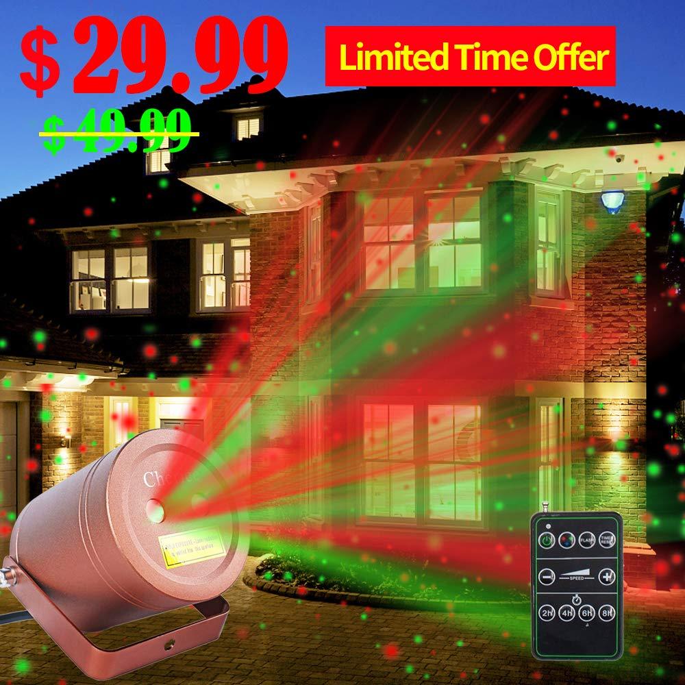 Christmas Projector Waterproof Decoration Cheriee