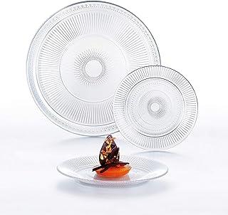 comprar comparacion Luminarc Louison Vajilla de 18 Piezas, 26x20x26 cm