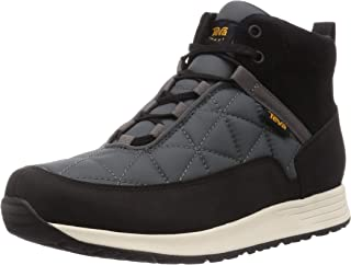 Teva Men's Wedge Sport Sandal, Black Grey, 10.5