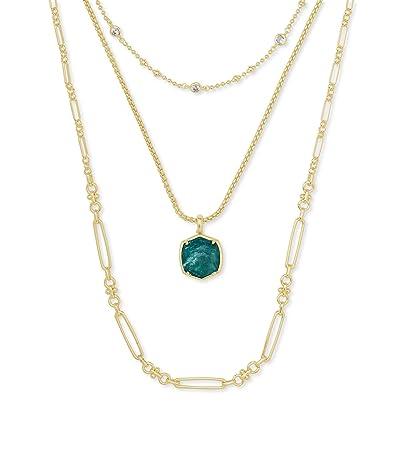 Kendra Scott Davis Triple Strand Necklace